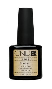 CND Shellaс Top coat Верхнее покрытие 15 ml