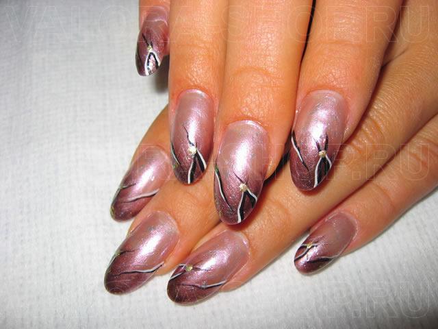 Фото лучших акриловых ногтей